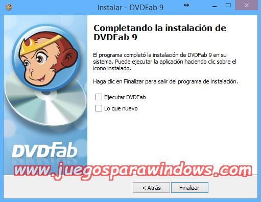 DVDFab v9.3.0.4 Full PC ESPAÑOL Descargar 3