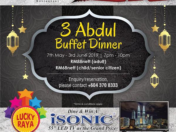 3 Abdul Buffet Dinner @ Vouk Hotel Suites Penang