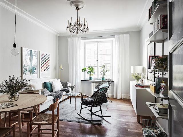 Detalii elegante într-un apartament de 54 m²