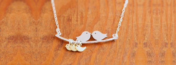 Love Couple Family Necklace Fb Cover