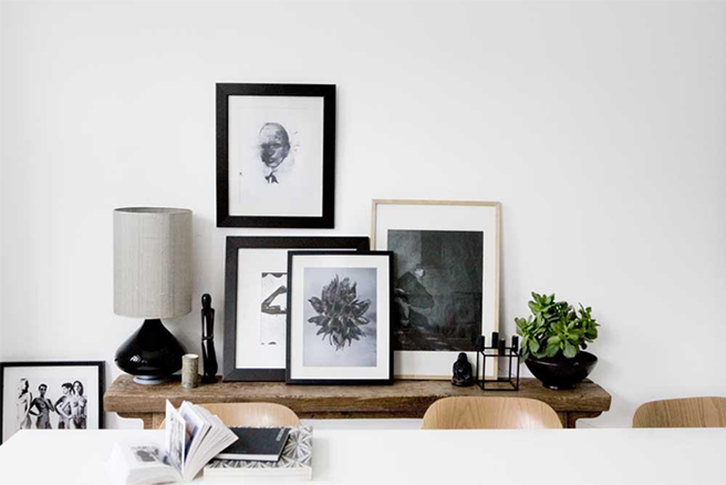 Monochrome Home Decor