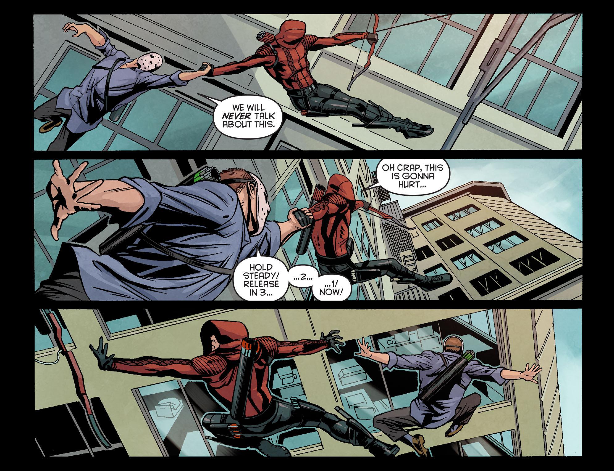 Read online Arrow: Season 2.5 [I] comic -  Issue #18 - 11
