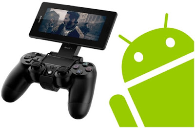 Screen Mirroring Vos jeus Android sur PlayStation4