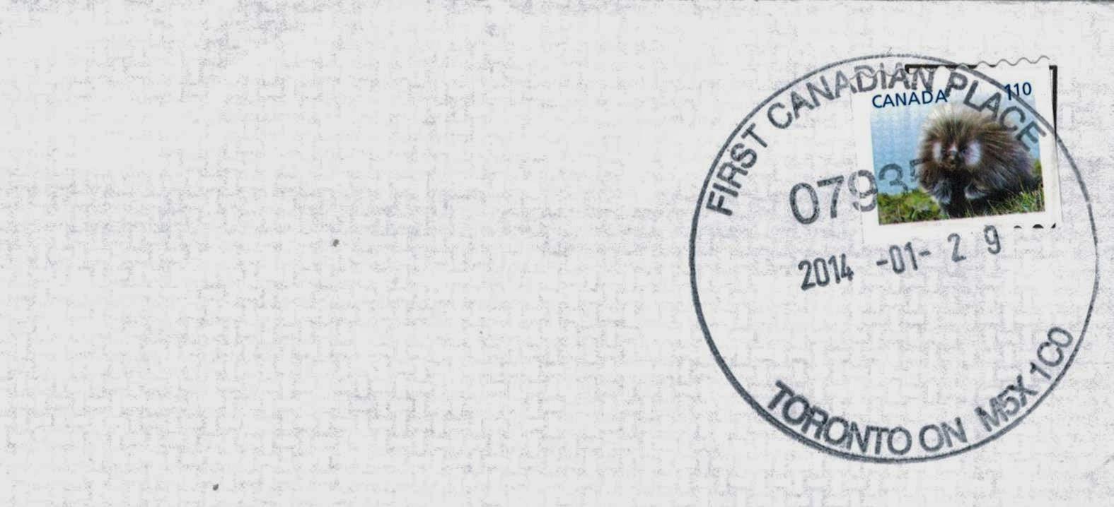 Postal History Corner: Canadian Standard Size Letter Rates