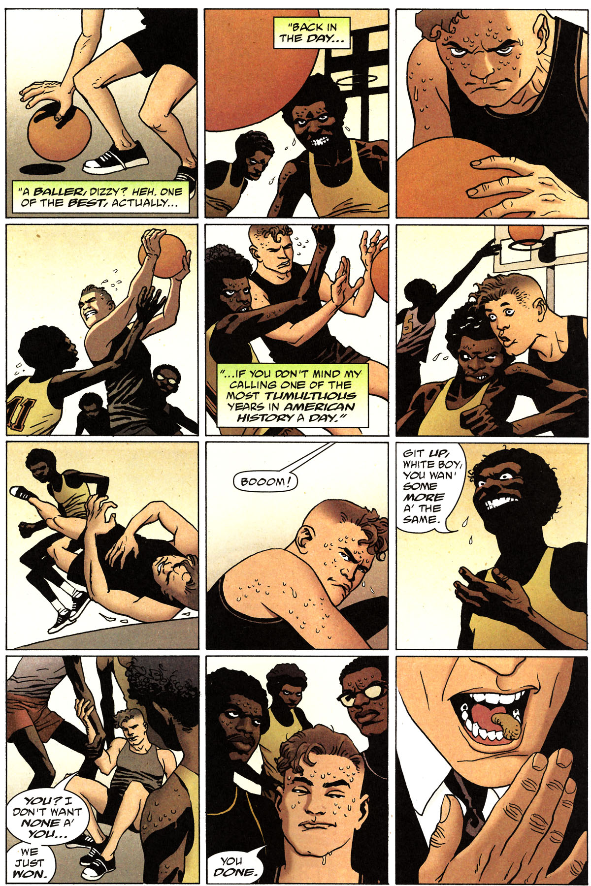 Read online 100 Bullets comic -  Issue #81 - 11