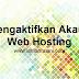 2. Cara mengaktifkan akaun FREE Web Hosting di LamanRasmi