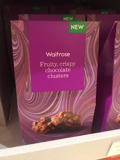 waitrose fruity crispy chocolate clusters