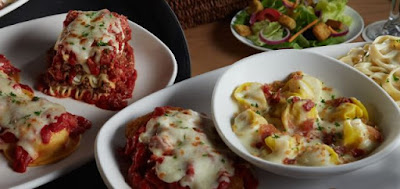 Create Your Own Tour of Italy Returns to Olive Garden This ...