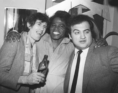 Keith Richards, James Brown y John Belushi