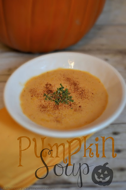 Fall Favorites: Pumpkin Soup #recipe