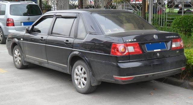 Volkswagen Santana.