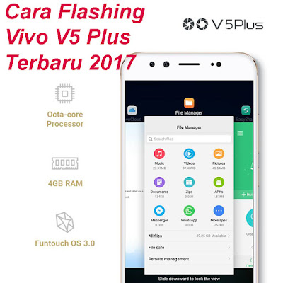 Cara Flashing Vivo V5 Plus Menggunakan QPST/Qfil Terbaru 2017 Tested!