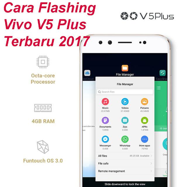 Plus memang sudah tidak diragukan lagi bahwa Vivo V Cara Flashing Vivo V5 Plus Menggunakan QPST/QFil Terbaru 2018 Tested!