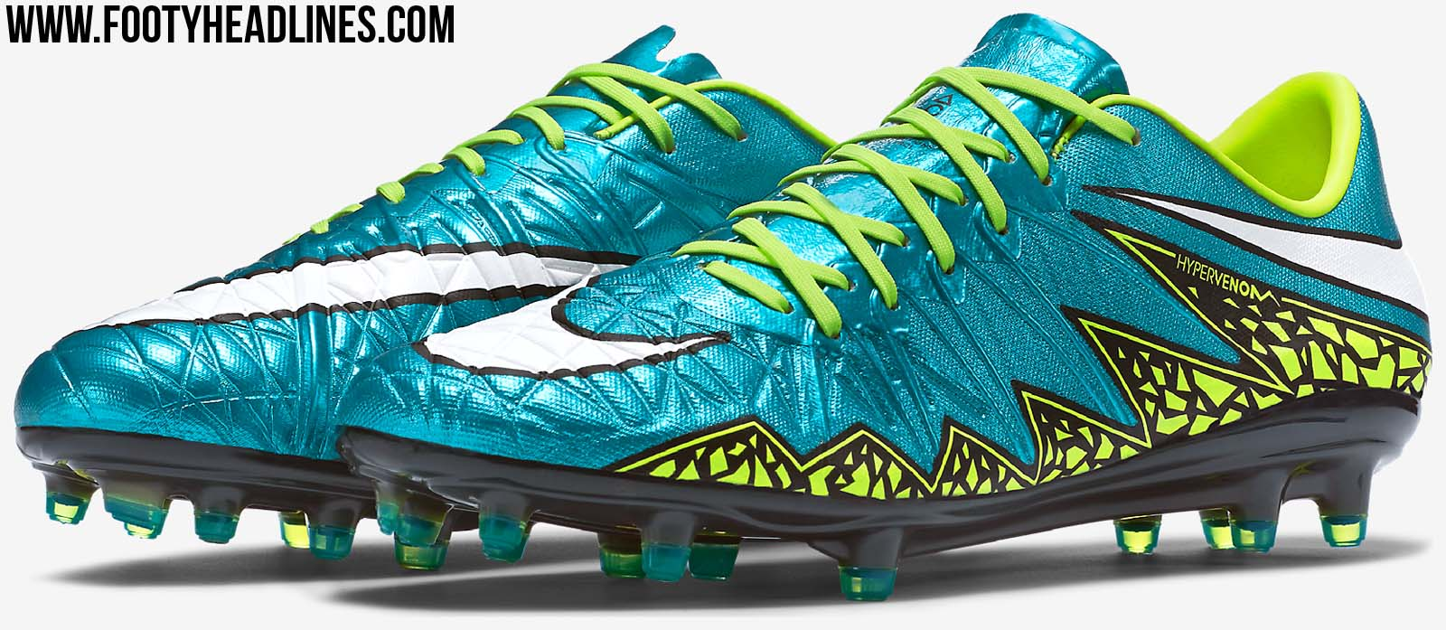 Exclusively designed for the 2015 FIFA Women's World Cup in Canada, the new  Blue Lagoon / Volt Nike Hypervenom Phinish 2015-2016 Soccer Boot is part of  ...