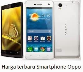 Daftar Harga Terbaru Smartphone Oppo