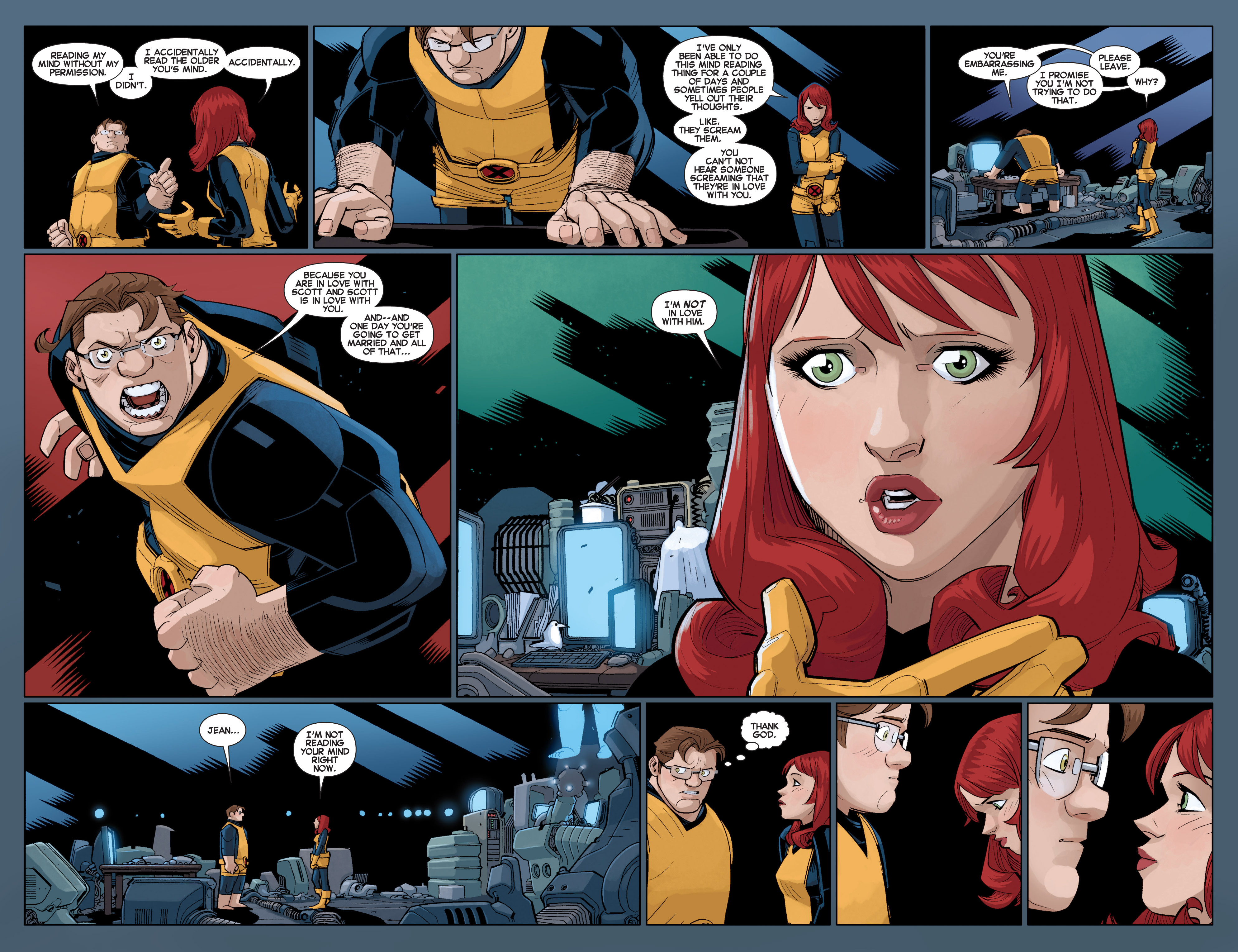Read online All-New X-Men (2013) comic -  Issue # _Special - Out Of Their Depth - 103