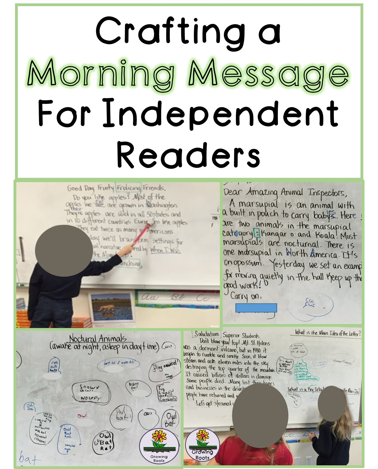 Growing roots morning messages for independent readers morning messages for independent readers m4hsunfo