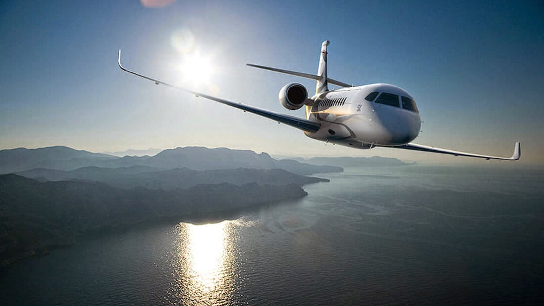 Passion For Luxury : The Falcon 5X, the latest jet by ...