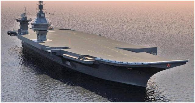 Resultado de imagen de portaaviones nuclear 'Shtorm