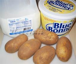 масло сливочное -2-3 стол.л. - соль - 0.5 ч.л.