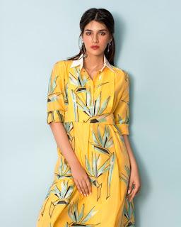 Kriti Sanon in Yellow Trendy western wear for Grazia Magazine January 2017