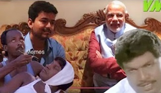 BJP Vs Joseph Vijay | Mersal | Video Memes