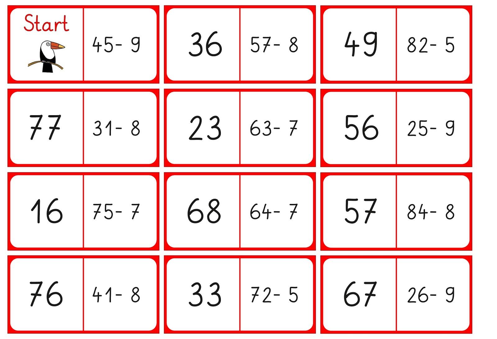 Lernstübchen Ein Weiteres Domino Für Die Rechenkiste 2