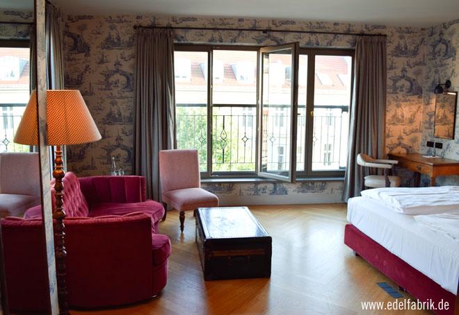 Elegant und gemütlich, die Zimmer im Monbijou Hotel Berlin