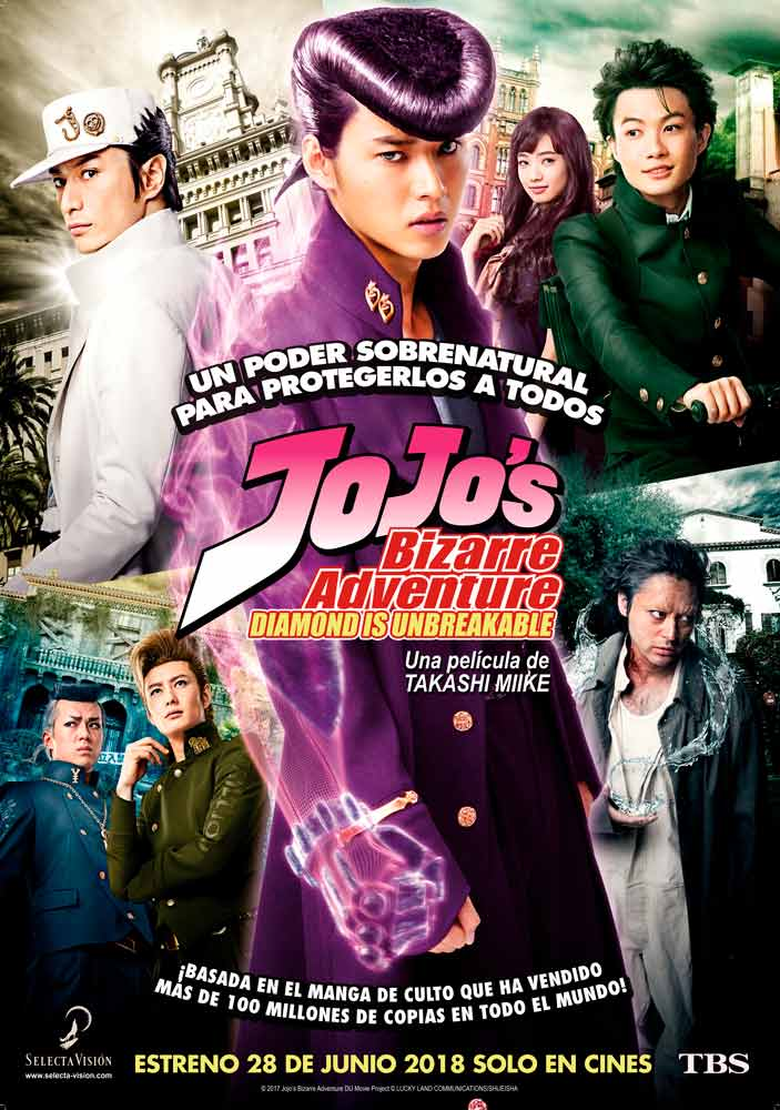 JoJo's Bizarre Adventure: Diamond is Unbreakable live-action - Selecta Visión