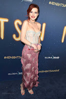 Bella Thorne looks stunnign in a designer gown at the Premiere of Midnight Sun ~  Exclusive Galleries 018.jpg
