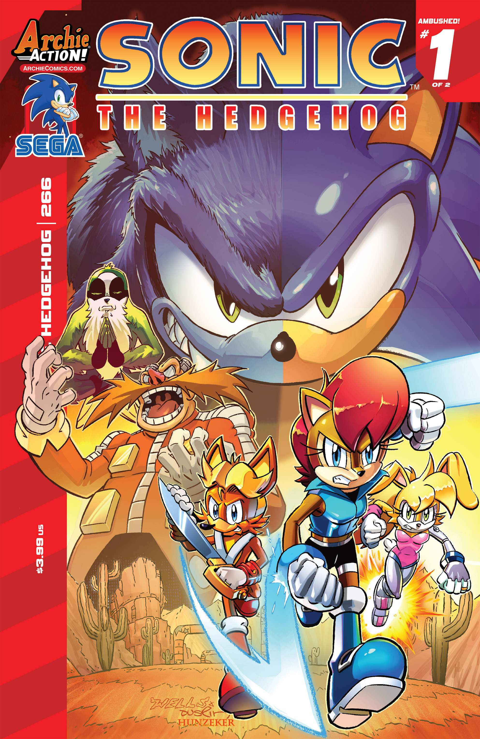 Sonic The Hedgehog (1993) 266 Page 1