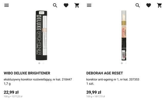 promocja na kolorówkę makijaż Rossmann co kupić