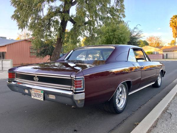 1967 Chevelle SS Tribute Pro Touring