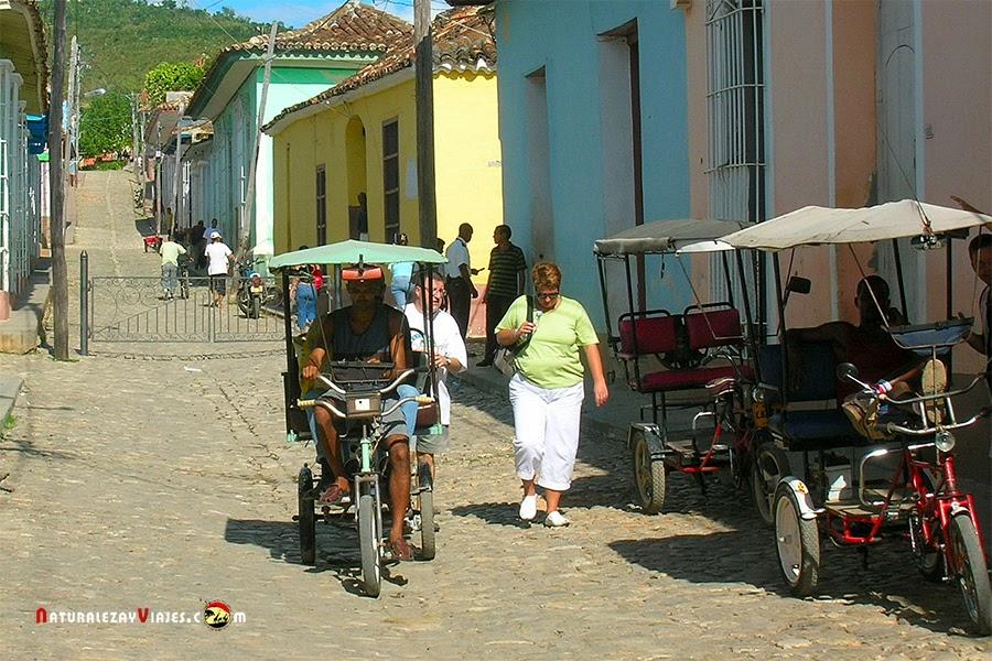Bicitaxi, Cuba