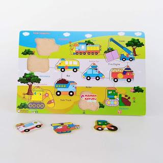 Gambar Puzzle Transportasi