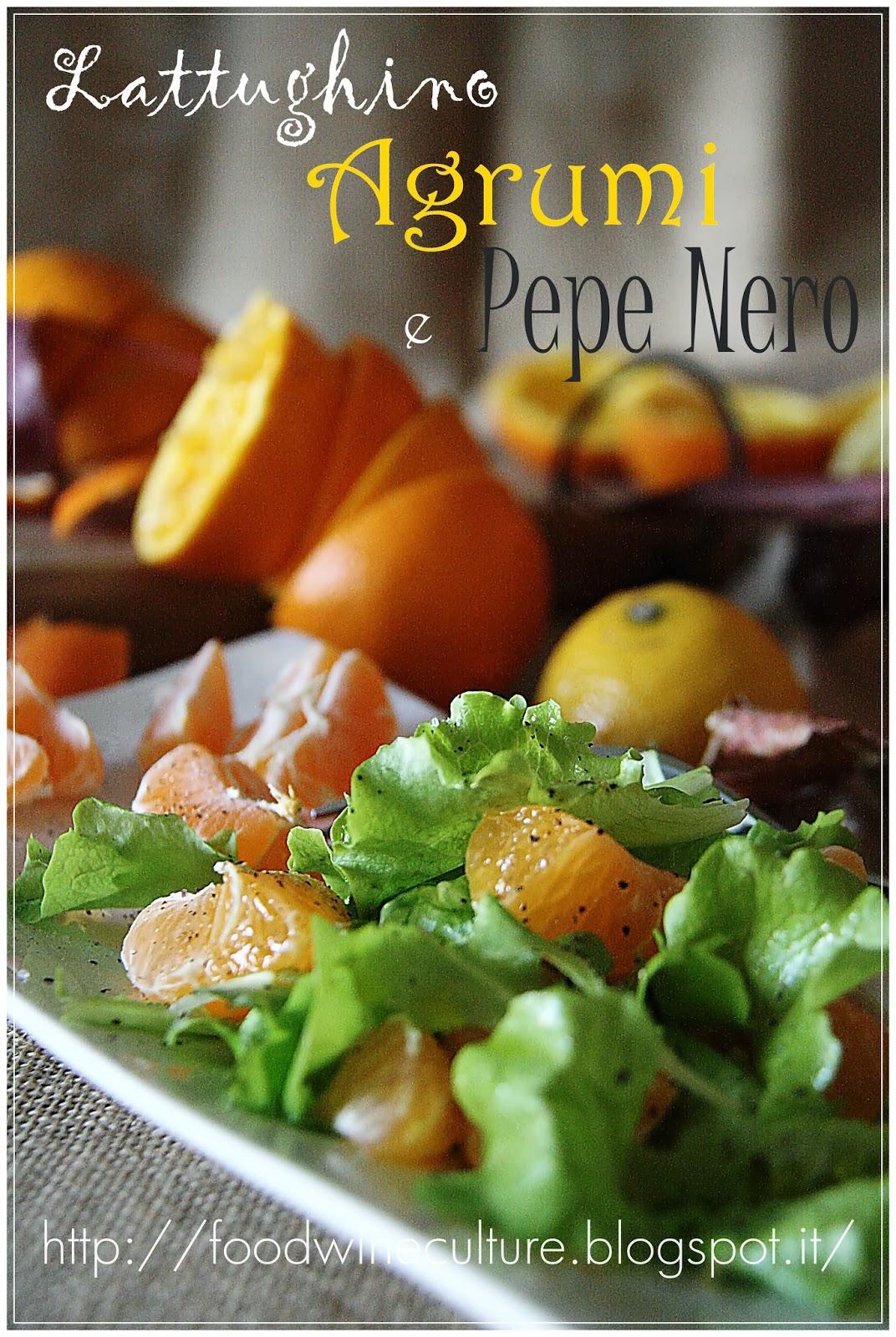 Lattughino con Mandarini e Pepe Nero aromatizzato agli Agrumi di Sicilia