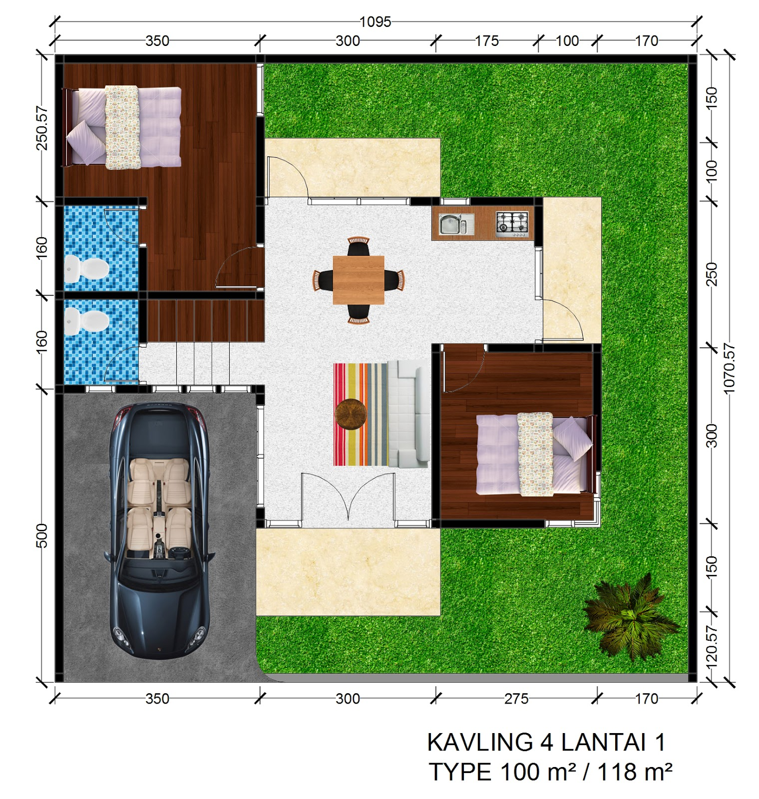 Rumah Mewah di Yogyakarta 2 Lantai Griya Bagus