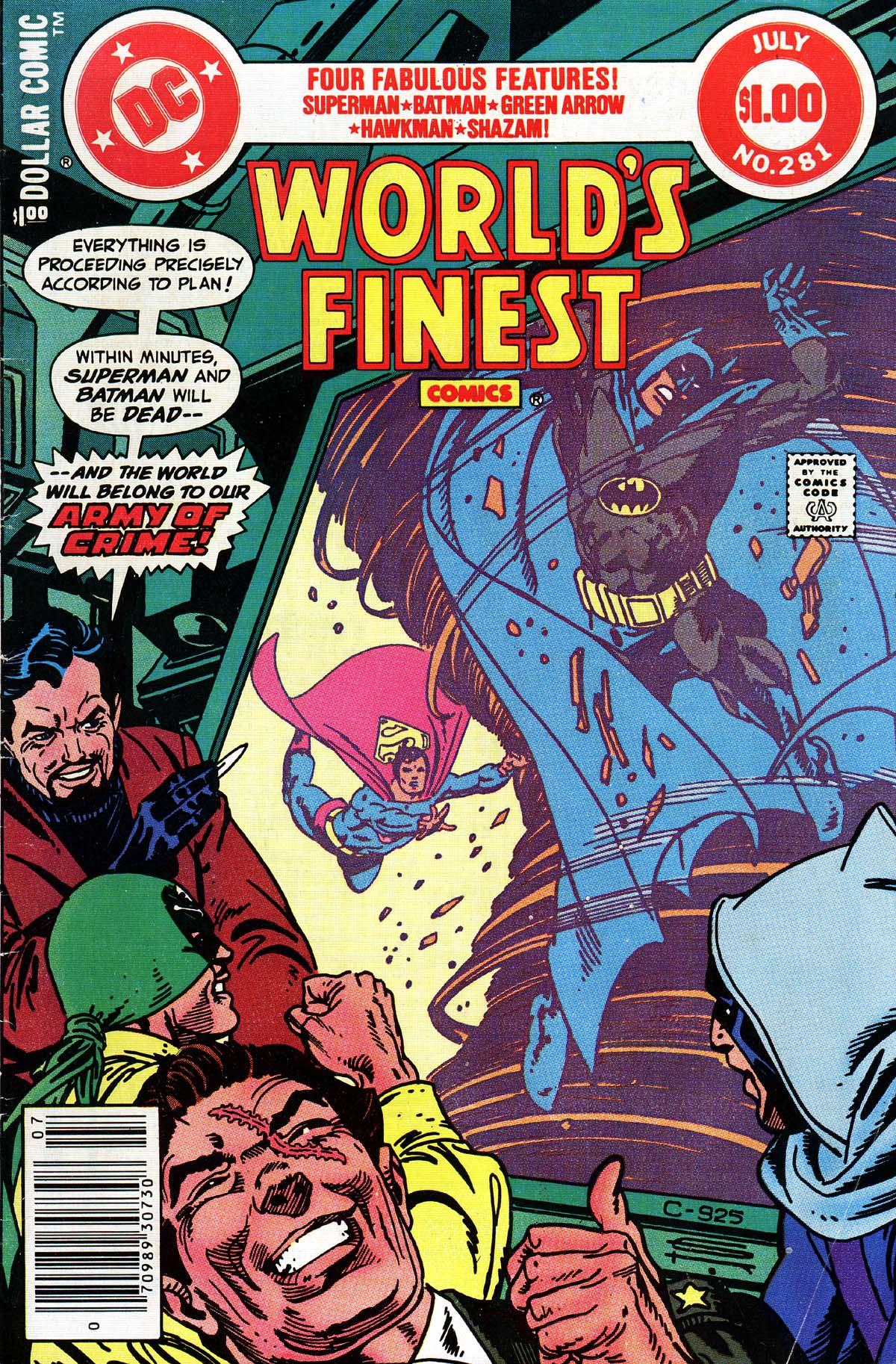 Read online World's Finest Comics comic -  Issue #281 - 1