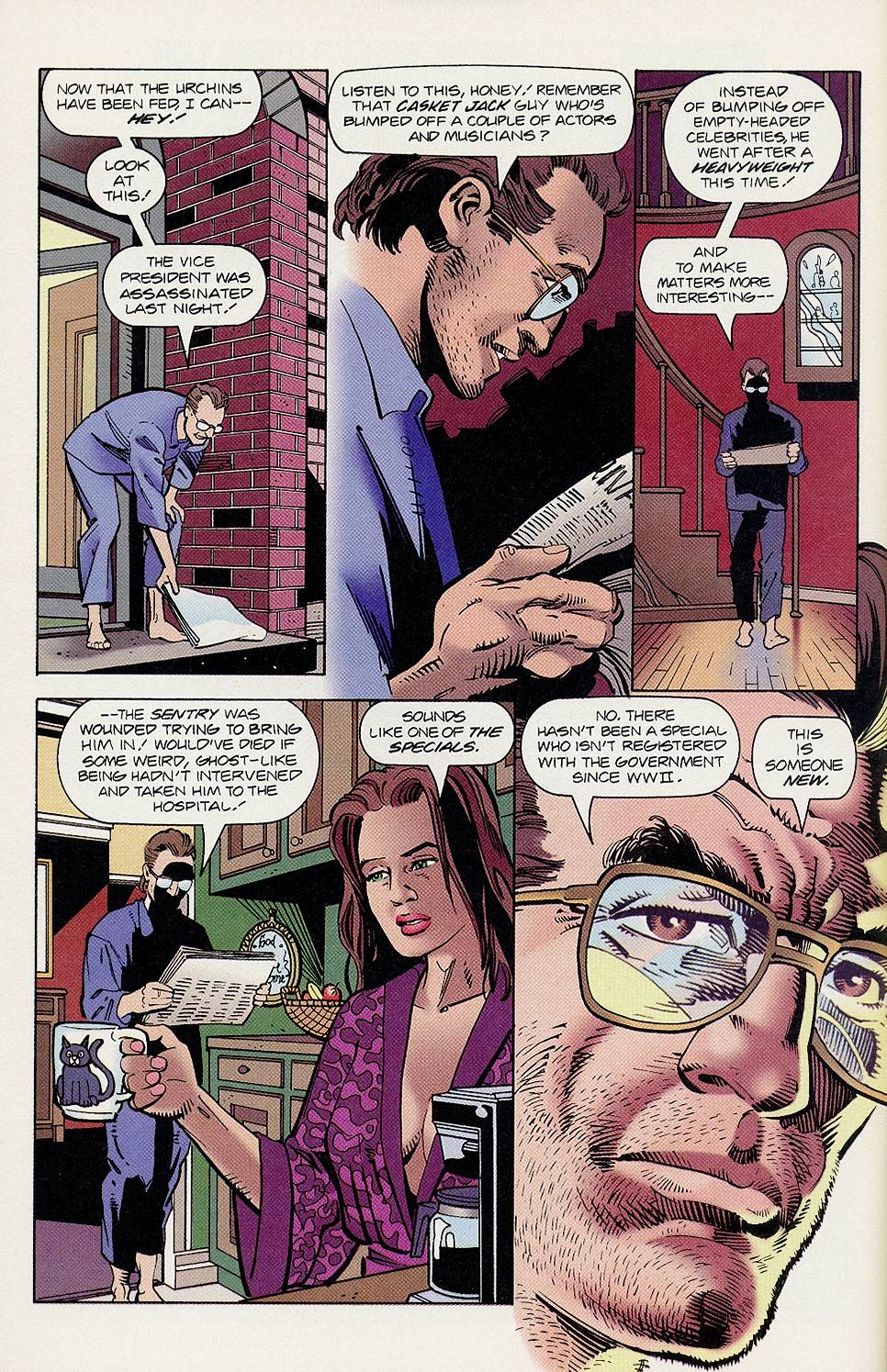 Read online Solar, Man of the Atom comic -  Issue #46 - 12