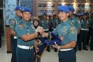 Danpuspomal Pimpin Sertijab   Kolonel  Laut (PM) Budi Kuncoro Sebagai Dirbinlidpam Puspomal