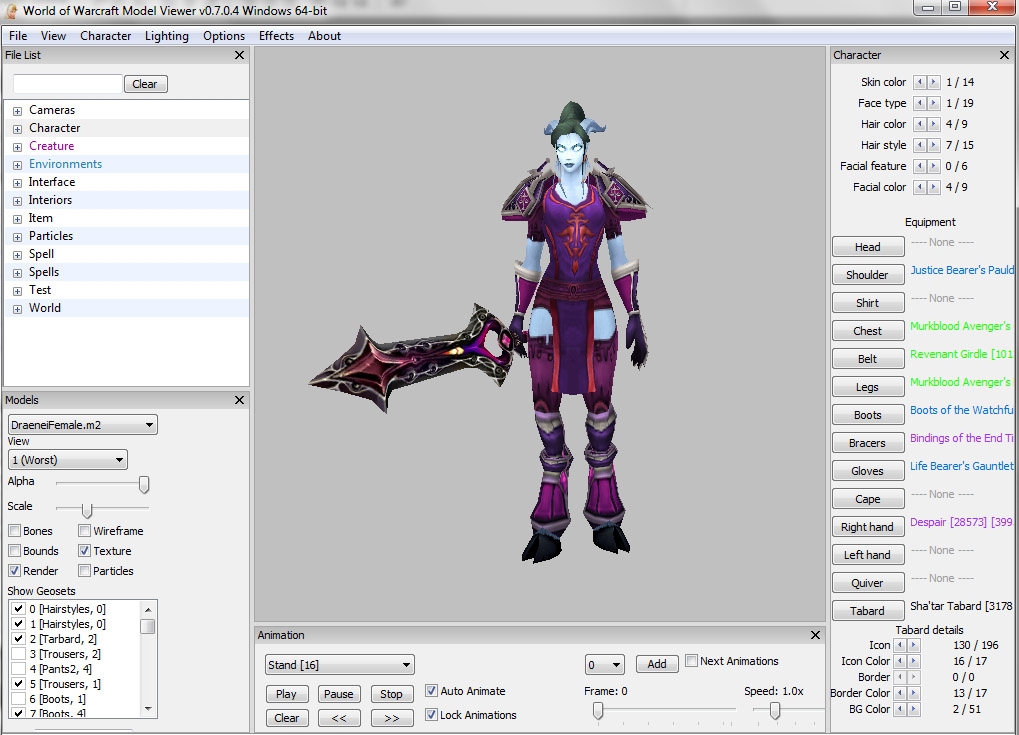 WoW Model Viewer Tips – How to Scale Shoulders | Pretty Fly