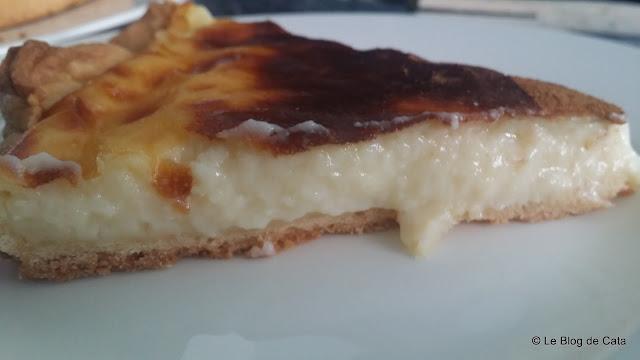 Tarta cu crema de lapte si oua - Melktert
