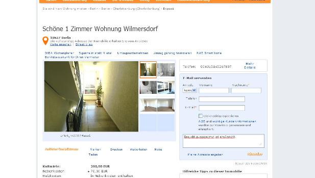 Prinzenstrae 7 33602 Bielefeld  Gegen Wohnungsbetrug