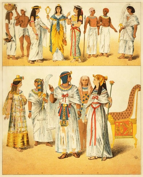 What Did Ancient Egyptians Wear For Dancing