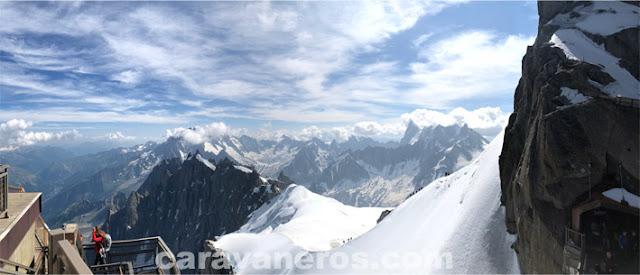 Aguile du Midi Chamonix | caravaneros.com