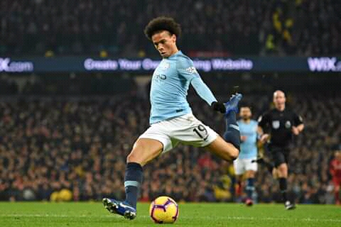 Sane Strike Downs Liverpool as Man City Ignite Title Race