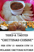 Tried and Tasted Event : Chettinad Cuisine