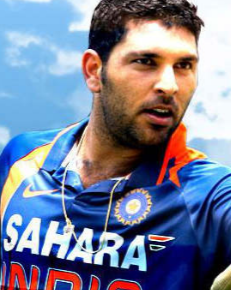 Yuvraj singh news, records, ipl 2016 team, biography, six girlfriend, family, score, profile, cricket, batting, birthday, information, autobiography, history, selection