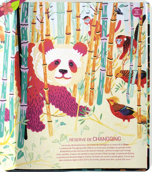 Jungles et réserves naturelles du monde de Mia Cassany et Marcos Navarro - éditions Nathan