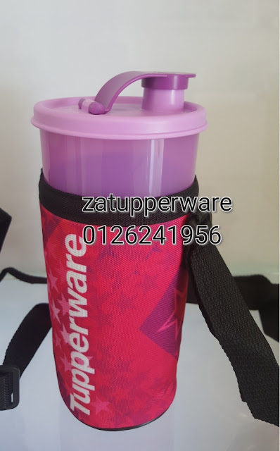 Tupperware Thirstquake Tumbler (1) 900ml with Pouch
